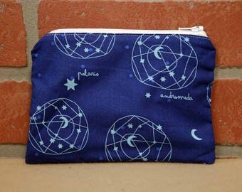 One Snack Sack, Constellations, Reusable Lunch Bags, Waste-Free Lunch, Machine Washable, Back to School, School Lunch, item #SS56