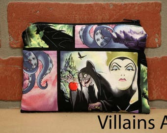 One Snack Sack, Reusable Lunch Bag, Waste-Free Lunch, Machine Washable, Disney Villains, Back to School, School Lunch, item #SS86