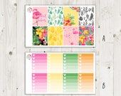 Flamingo Vertical Weekly Kit - ECLP Stickers