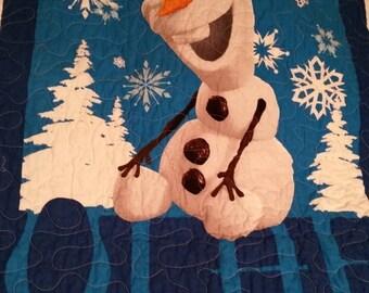 Sale Frozen Olaf Crib Toddler Cot Nursery Girl Boy Nursery