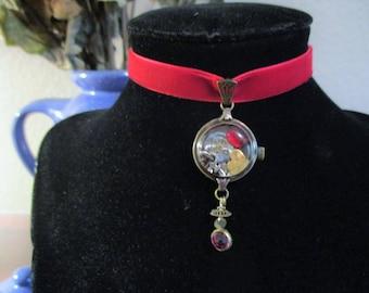 Steampunk Watchcase Choker