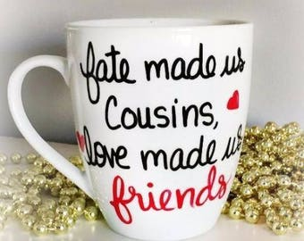 Personalized Gift for Cousins, Cousins Gift Idea, Cousins Birthday Gift, Gift for Cousin's, Cousin Gift From Cousin, Cousins Gift, Cousins