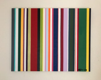 Me Stripes Painting