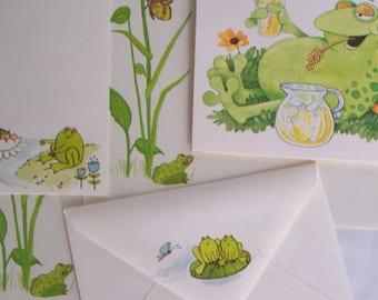 Stationery Mini Set - Frogs