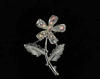 Vintage Silver Tone Daisy Brooch by ©SARAH COVENTRY (Quantity of 2) (Tier 1)