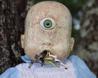 Lochan (OOAK Horror doll)
