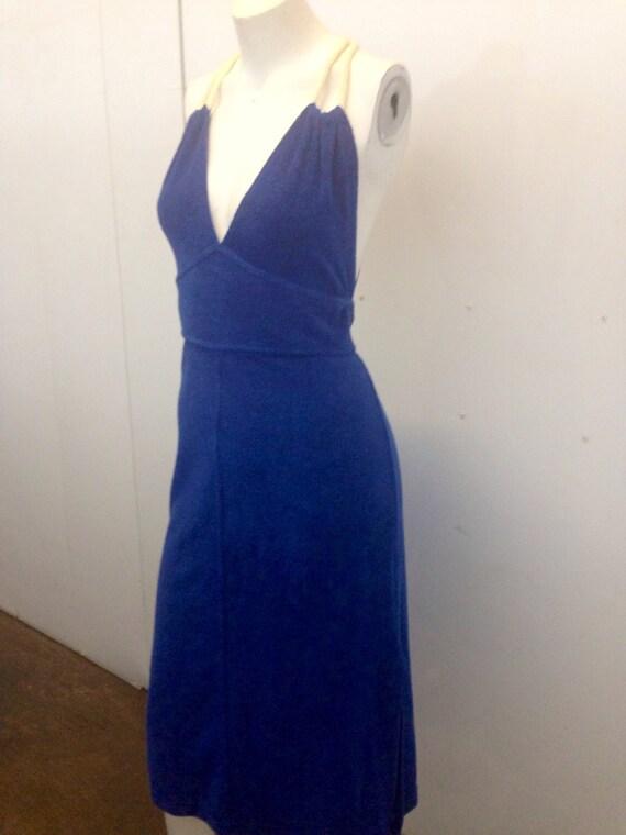 Vintage Terry Cloth Dress