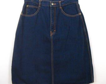 Gitano High-Waist Denim Skirt // Size 5