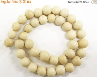25% OFF 10-12mm Acai Beads, Natural Beads, Prayer Beads, 37 bead strand - Asayan
