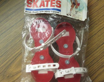 Vintage Straco Jr Challenge Cup Roller Skates in Package Hong Kong