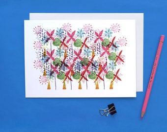 Happy Flower Card