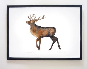 Printable Stag art
