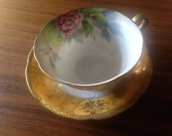 Chibu Cup and Saucer made in Occupied Japan