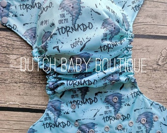 You Are My Tornado Cloth Diaper