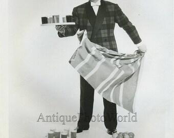 Jack Olten magician performing trick antique photo