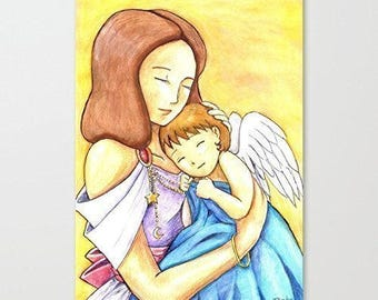 "Drawing / illustration ""Baby Angel"""