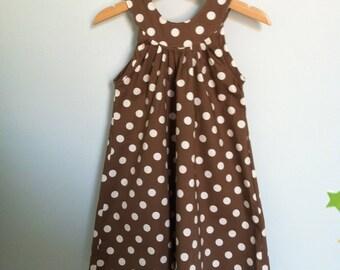 POLKA DOTS GIRL DRESS