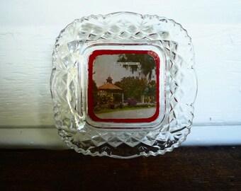 Art Deco View-Ware dish - Warwick Qld Leslie Park Australian souvenir