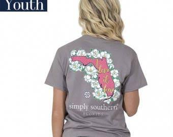 Simply Southern® YTH-PREPPYFL-STEEL
