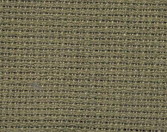 Counted Cross Stitch Fabric 12 x 18 Inches Balsam Needlework Cloth For Stitching Rare Out of Print Green Point De Croix Evenweave Breadcloth