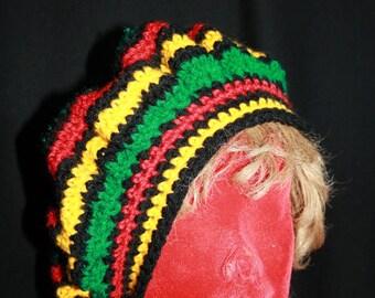 beret rasta 59-60 cm head circumference