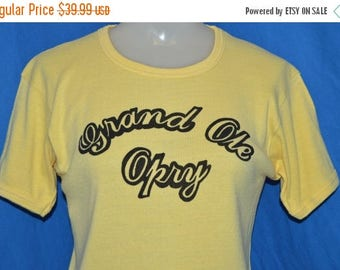 ON SALE 70s Grand Ole Opry Womens t-shirt Small