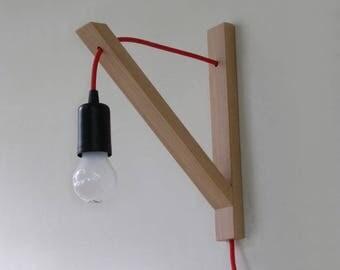 Wall lamp, minimalist wall sconce, minimal simplicity
