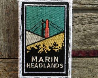 Marin Headlands Souvenir Travel Patch