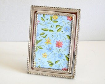 Pretty Vintage Silver Plated Picture Frame