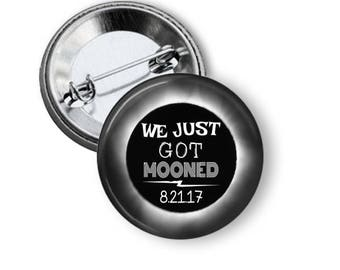 2017 Totality Eclipse, Great American Total Eclipse, Sun and Moon, Eclipse Buttons, Eclipse Party Favors, Eclipse Souvenirs, Solar Eclipse