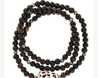 SUMMER SALE Hebrew Shell Bracelet