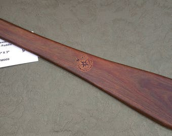 Lignum Vitae Miss Rose Paddles Spanking Paddle BOE BDSM Taffy Paddle VW009