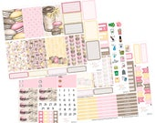 Big Happy Planner Stickers / Coffee Stickers / Planner Stickers / Weekly Kit / Spring Stickers / BHP58