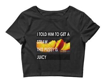 Its Juicy Women's Crop Tee