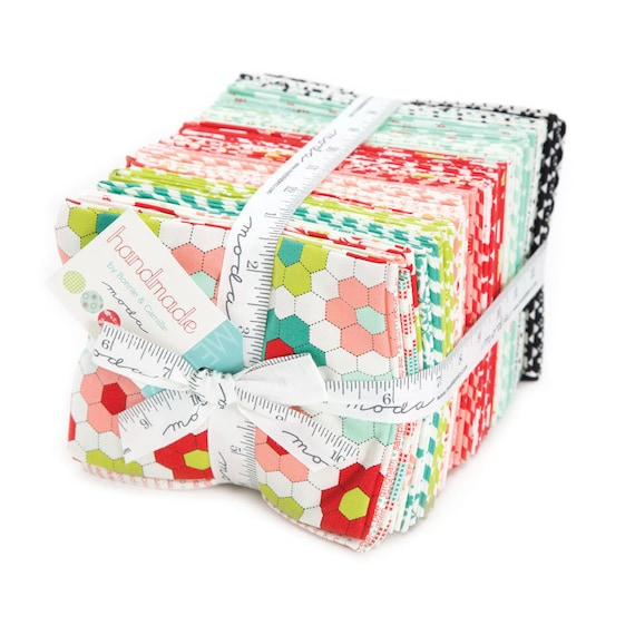 Handmade Fat Quarter Bundle of 40 Fabrics by Bonnie and Camille's 2016 Quilt Fabric Collection From Moda