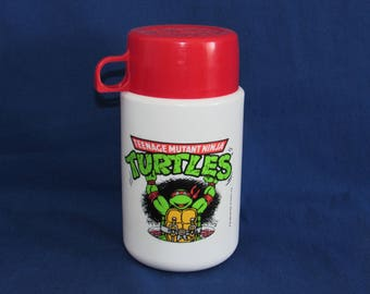 TEENAGE MUTANT Ninja Turtle Thermos 1990