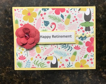 Handmade Retirement Cards