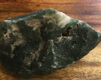 Moss Agate Natural Raw Rough Stone, Healing Stone, Healing Crystal, Chakra  Stone, Spiritual Stone