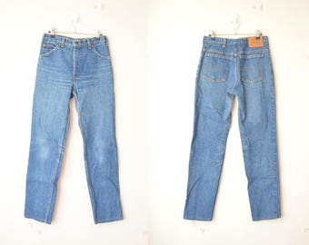 vintage Levi's high waist orange tab mom jeans 80s // W33 L34