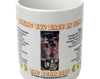 1976 Taking You Back In Time Coffee Mug