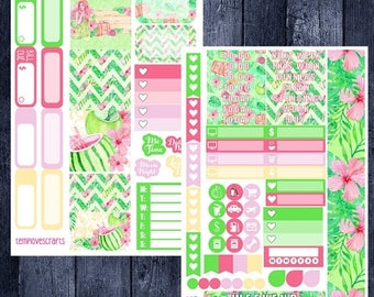 On Sale Tropical Vacation Kit for Personal Planner