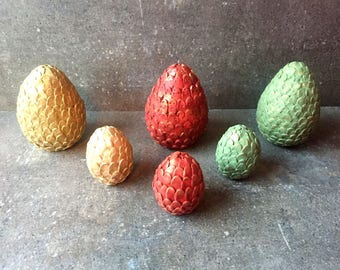 Individual Dragon Egg - Game of Thrones - Small or Large - Harry Potter dragon eggs - Cosplay Gifts