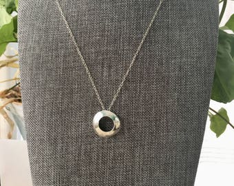 Large Convex Washer Necklace