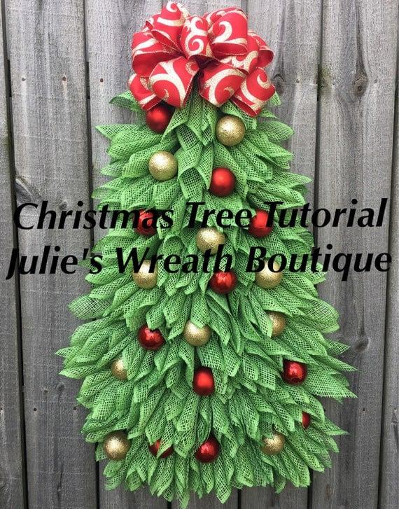 tree tutorial diy wreath tutorial