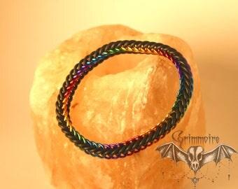 Rainbow Stretchy Bracelet