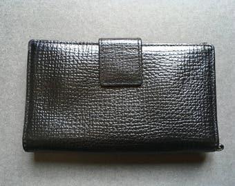Vintage HALOGEN Genuine Leather Wallet