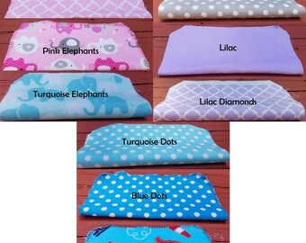 24  flannel cloth wipes