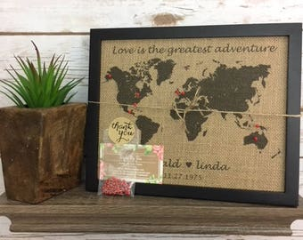 Cork board world map etsy framed push pin travel world map map of united states us push pin map gumiabroncs Choice Image