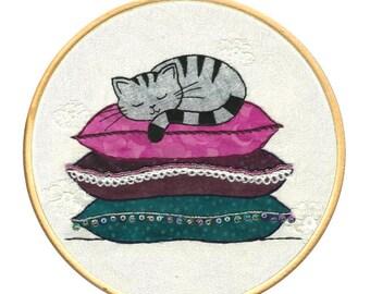 Cat creative stitching kit