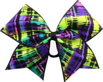 Tropical Rain Forest Cheer Bow